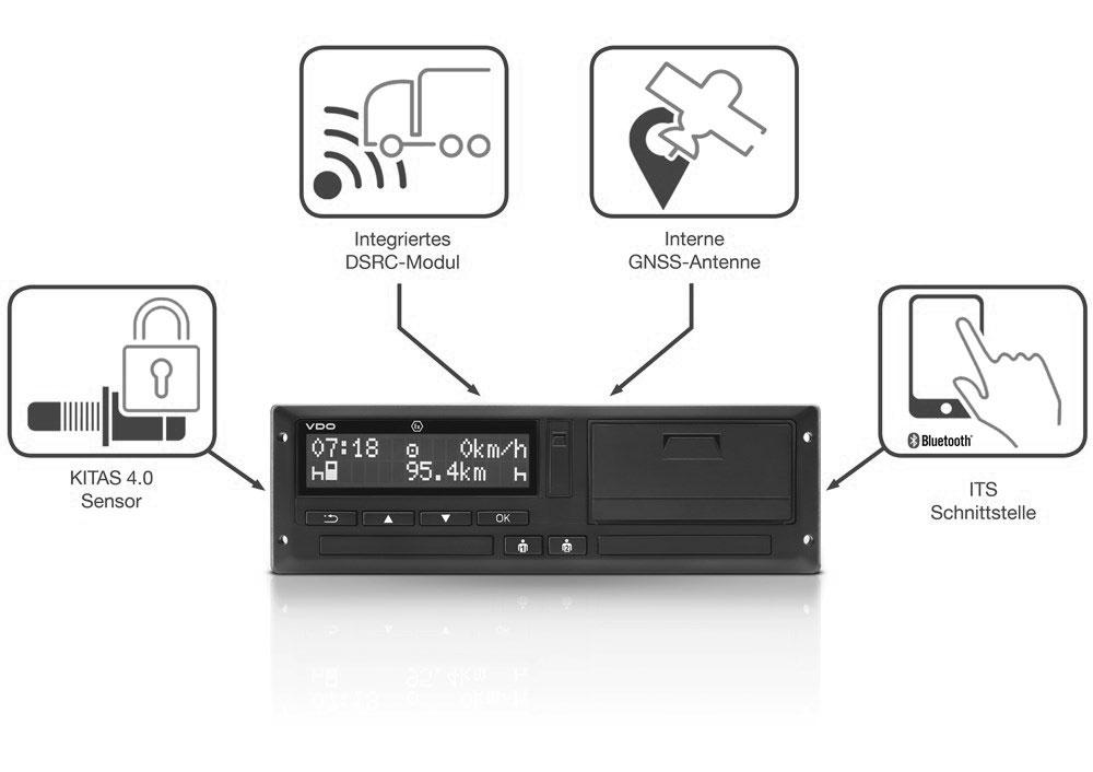 Tachograph DTCO 4.0 von VDO